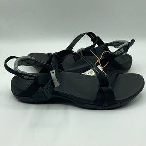 Teva Sierra Black Water Ready Rubber Sandals